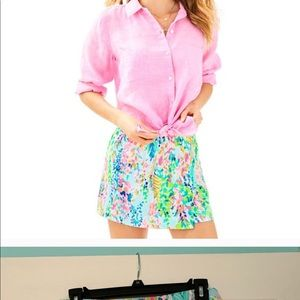 Lilly Pulitzer Catch The Wave Skort Size 2